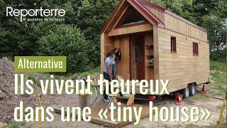 """Vivre dans une """"tiny house"""" en France"""