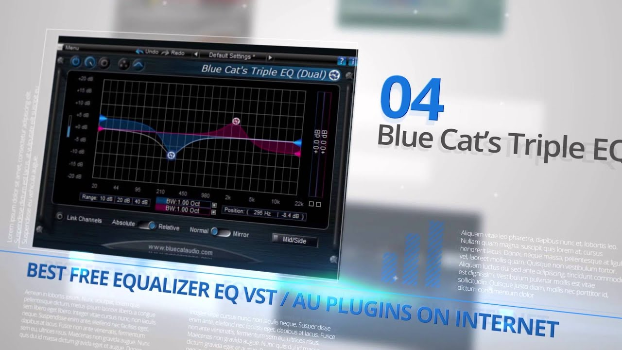 Best Free Equalizer EQ VST Plugins