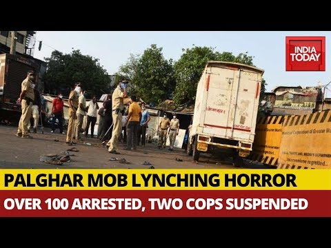 Palghar Mob Lynching Horror: Sadhus Among Three Killed, Nearly 110 People Arrested
