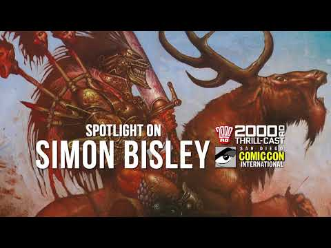 The 2000 AD Thrill-Cast: Spotlight on Simon Bisley at SDCC 2018