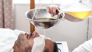 Relax Your Mind | Shirodhara in Ayurveda | Panchakarma Treatment ASMR