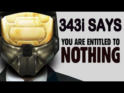 343i Employee Calls Halo Fans ''Entitled''