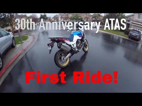 First Ride! 2018 Honda Africa Twin ATAS CRF 1000L2 1st of 30 Videos in Series