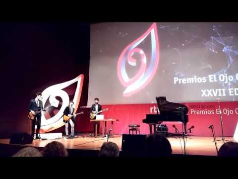 Papaya tocando Ay, Mujer en la Gala de los Premios Ojo Crítico XXVII de RNE