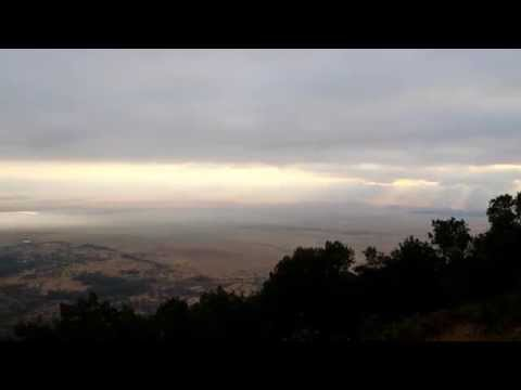 Wonderful morning in Ngorongoro volcano Tanzania