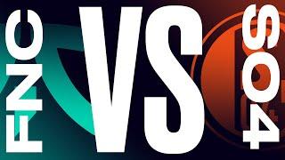 FNC vs. S04 | 2021 LEC Spring Week 1 Day 3