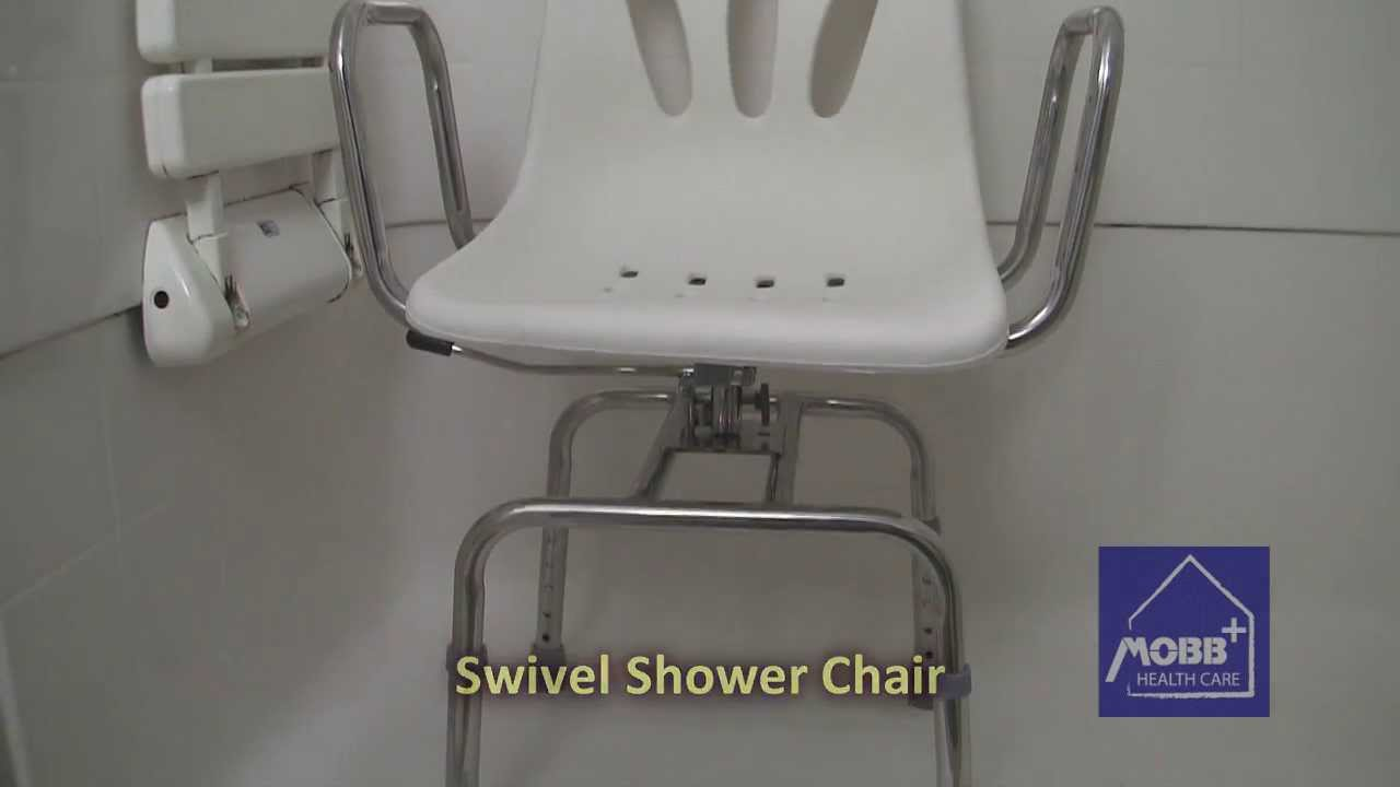 MOBB Swivel Shower Chair - YouTube