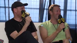 Chris and Jonny interviewed in Milan by Radio 105
