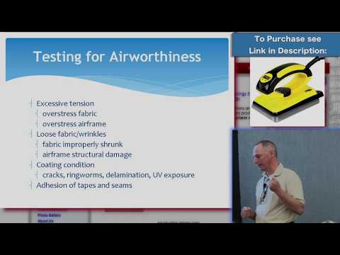 How to Inspect and Repair All Aircraft Fabric Systems - Stewart Systems