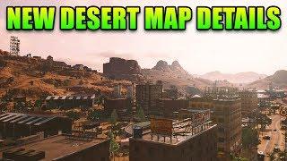 PUBG New Desert Map Details - This Week in Gaming | FPS News