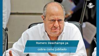 El director de Pemex, Octavio Romero informó que el pasado 16 de marzo procedió la jubilación del exlíder petrolero