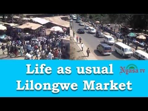 Life as usual   Lilongwe Market | Nyasa TV