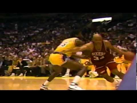 1989-90 Sixers vs. Lakers (4/7)