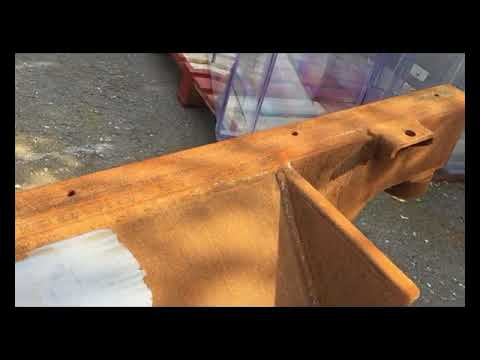 Rust Removal On Large Automotive Chassis Using Laser Cleaning Technology