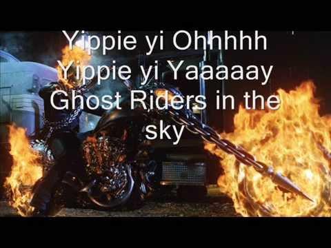 Spiderbait - Ghost Riders In The Sky (Lyrics)