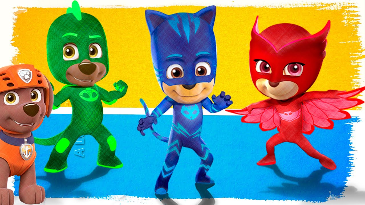 Coloring Pages Pj Masks : Paw patrol pj masks fun coloring pages superhero videos for kids