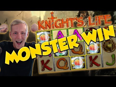 BIG WIN!!! Knights Life HUGE - Casino Games - Free Spins (Online Slots)