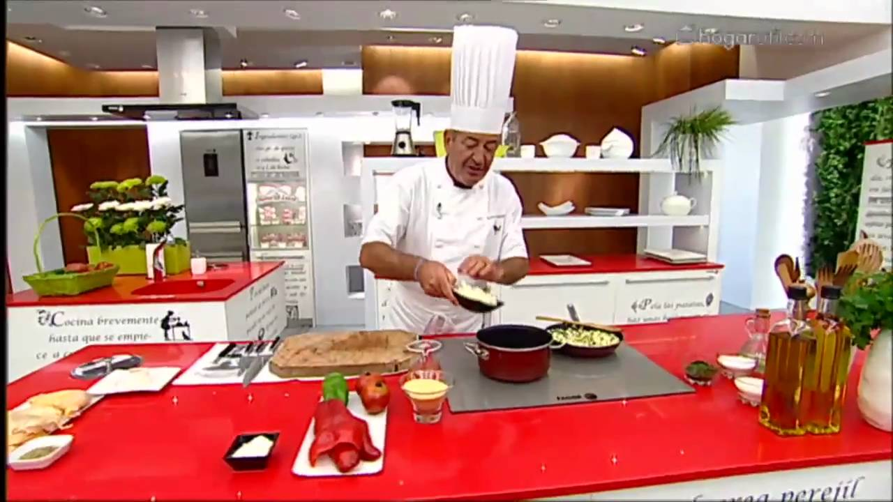 K. Arguiñano en tu cocina: Pollo asado con pisto de champiñones y ...