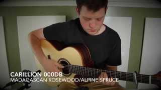 Carillion 000DB (Madagascan Rosewood/Alpine Spruce) - George Heatley