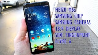 MEIZU M6s English Review | Samsung Chip and Cameras, 18:9, Flyme 6