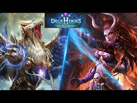 Deck Heroes: Puzzle RPG (by IGG.COM) IOS Gameplay Video (HD)