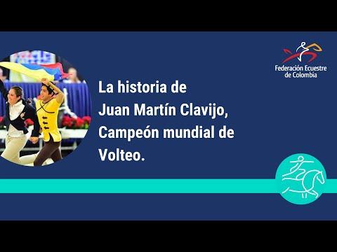 LA HISTORIA DE JUAN MARTIN CLAVIJO   CAMPEON MUNDIAL DE VAULTING