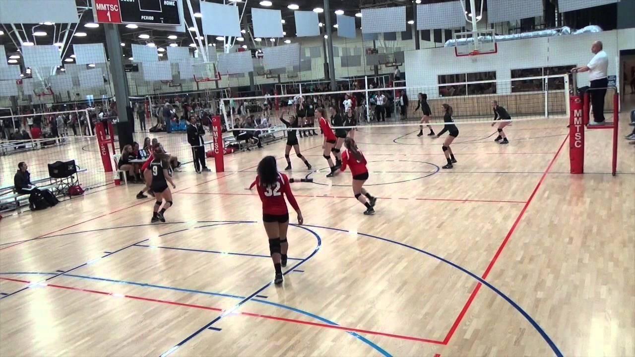 Rose Murphy Momentous Volleyball Club 2016 - setter