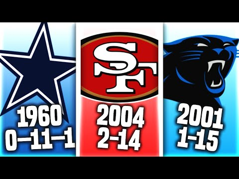 Every NFL Team's WORST Season EVER That Fans Want To Forget About