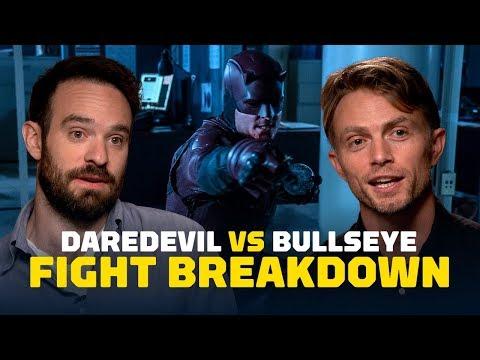 Daredevil vs. Bullseye Fight Breakdown  Season 3, Episode 6