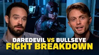 Daredevil vs. Bullseye Fight Breakdown - Season 3, Episode 6