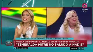 Sigue la guerra entre Esmeralda Mitre y Analía Franchín