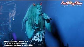 AVRIL LAVIGNE - SK8ER BOI Live in Jakarta, Indonesia 2014