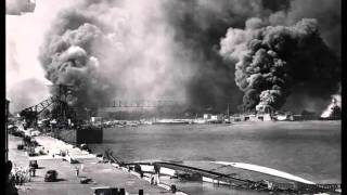 Battleships at Pearl Harbor on December 7, 1941.wmv
