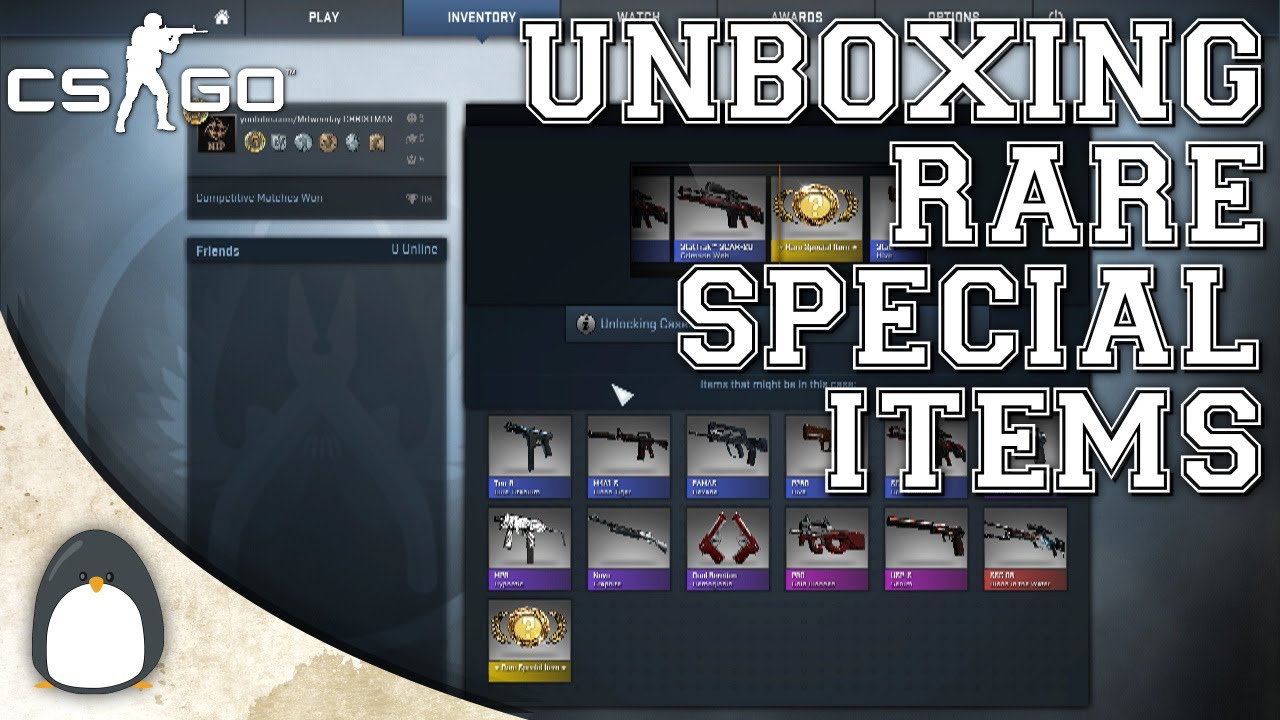 how to get rare special item in csgo