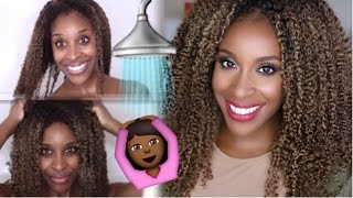 The Perfect Wash and Go! Heat Free Hair | Jackie Aina(Hey lovelies! Today I'll be showing how to achieve the perfect Wash and Go hairstyle with Heat Free Hair. It's super easy to maintain, and gives my curls the best ..., 2015-09-19T13:30:00.000Z)