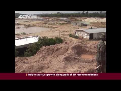 Ghanaian mines menace