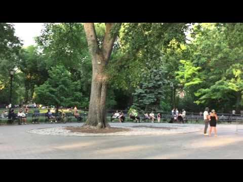 Sunday Evening At East Village And Tompkins Square Park (KISS In NYC Series, Paul Stanley)