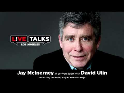 Jay McInerney​ in conversation with David Ulin