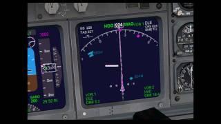 FSX ILS Schulung - Der ILS Anflug im Detail (Teil 1 von 2)