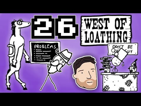 West of Loathing (Hard Mode) - PART 26: Cakesuckin' Sonofabiscuit | Graeme Games | Breadwood