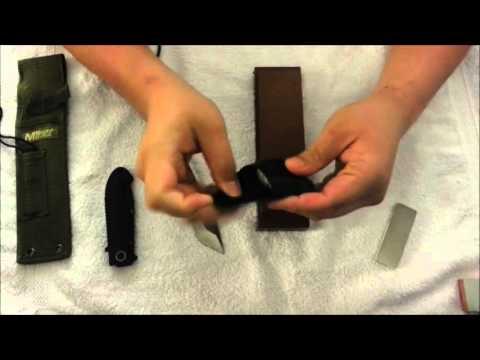 How I sharpen my knives