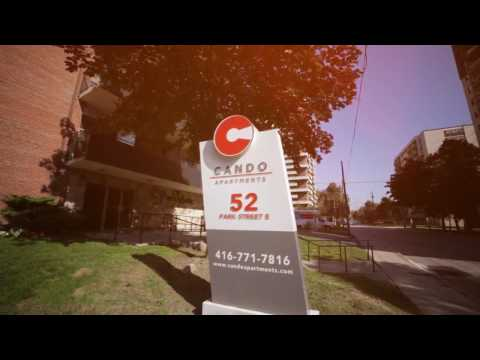 Mississauga Apartments For Rent Located 52 Park St- Property Managed By Cando Apartments