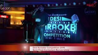 Desi Karaoke Competition 2014- Semi Final compilation