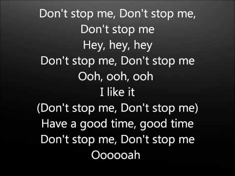Don't stop me now - Queen- Lyrics