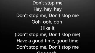 Repeat youtube video Don't stop me now - Queen- Lyrics