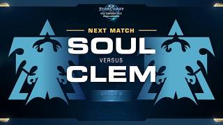 Clem vs souL TvT - WCS Challenger 2018 Season 1 – Europe