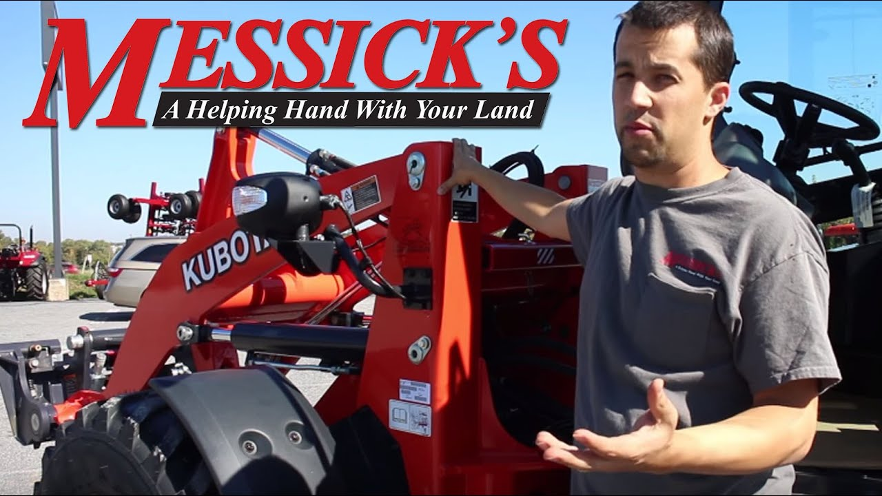 Messick S Review Of The New Kubota R630 Wheel Loader Youtube