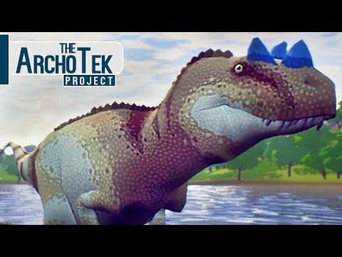 The Archotek Project - O Grande Ceratosaurus, Caçando Dinossauros Herbívoros! | (#10) (PT-BR)