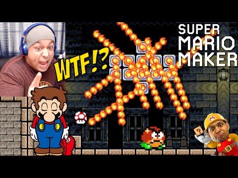 Y'ALL TRYNA KILL ME!! [SUPER MARIO MAKER] [#11]