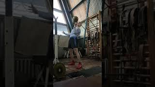 Жим гири 24 кг на попа   fitness мотивация спорт